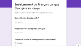 Teachers of French kindly share your Opinions